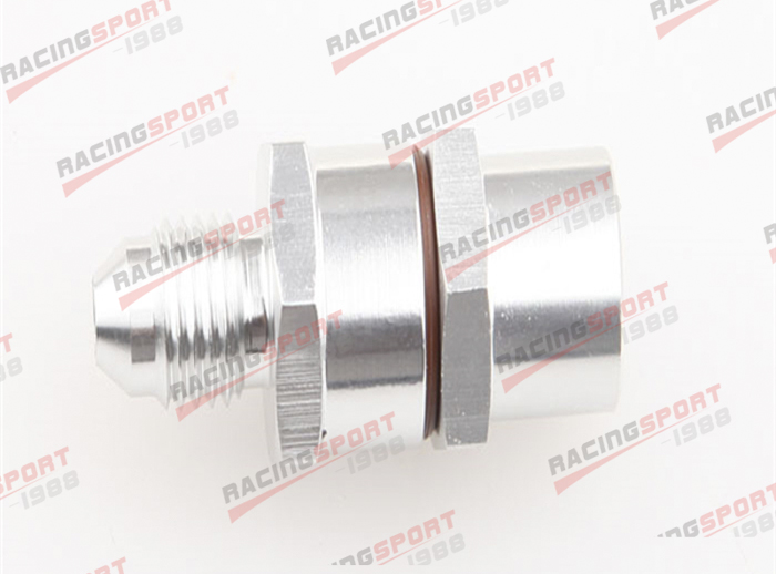 4AN AN4 Male To 4AN Male High Flow Billet Turbo Oil Feed Line Filter 30 Micron