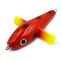 1 pcs Sea fishing wood sea bird plane trolls Lure Deep – sea Fishing Boat Artificial Bait Bird Wave top water plane lure