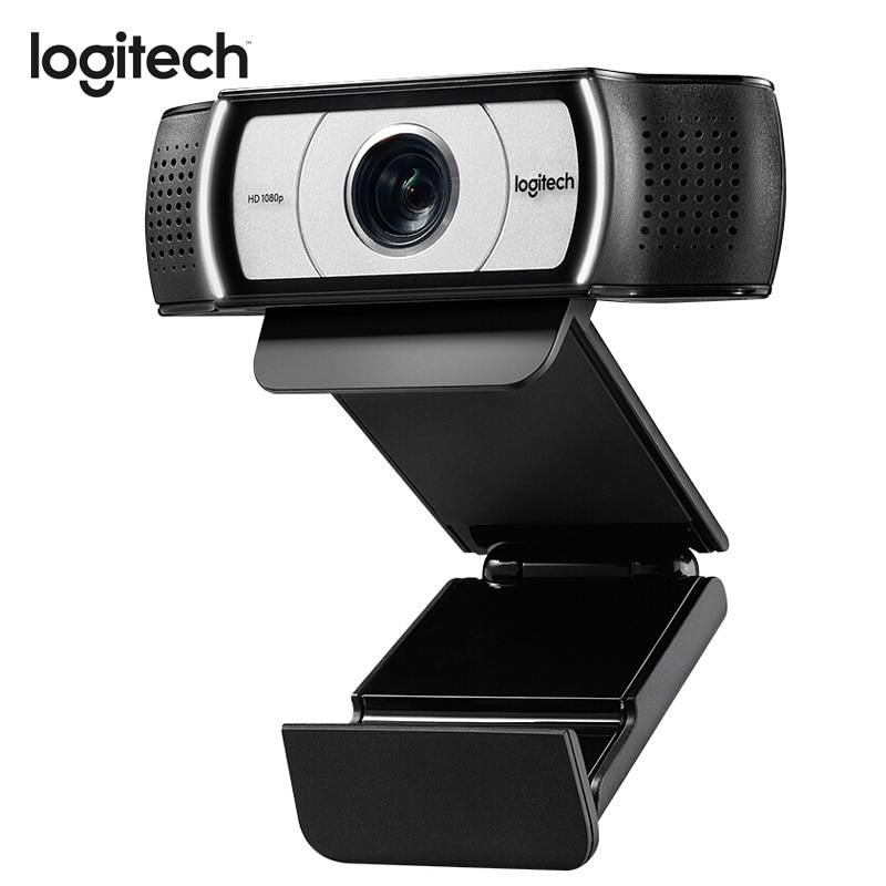 Logitech Webcam C930E Web Cam FULL HD 1920 1080 Garle Zeiss Lens Web Camera with 4Time
