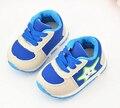 Recém-nascido antiderrapante sola de sapatos de bebê menino
