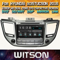 WITSON factory price!! car dvd for HYUNDAI  ix35/TUCSON 2016 stereo GPS navigation radio+Capacitive Screen+DSP+TPMS+DVR+WIFI