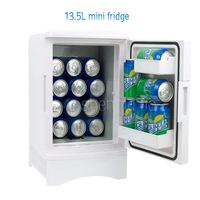 Mini fridge freezer 13.5L Home dual use Portable refrigerators refrigerator car Compact Car 12/ 220 V/ changes in temperature