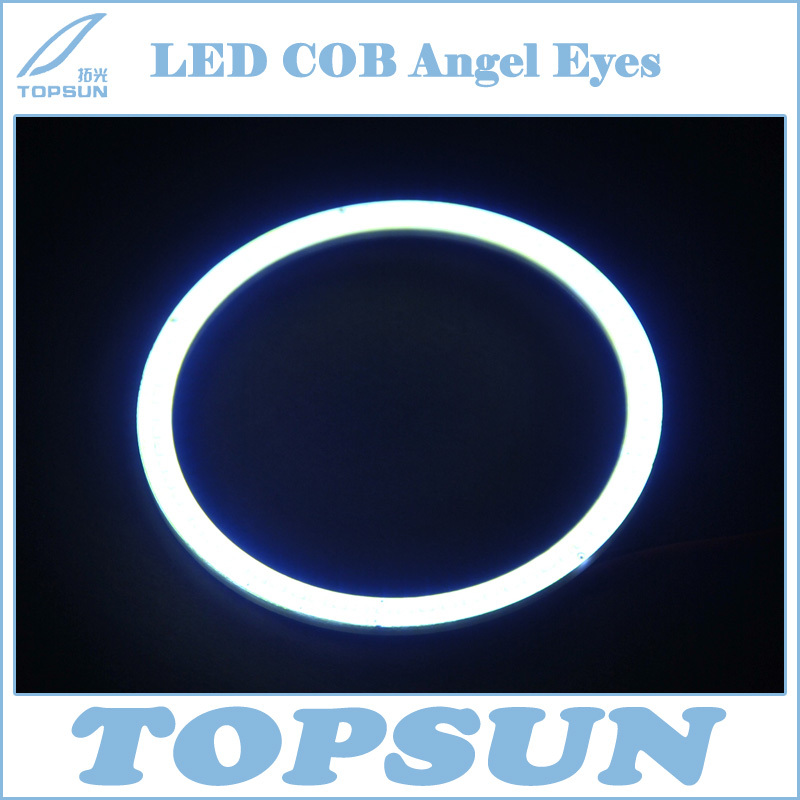 LED Car light 2 pcs High Quality and Bright 100mm LED COB Angel Eyes Halo Ring for DRL