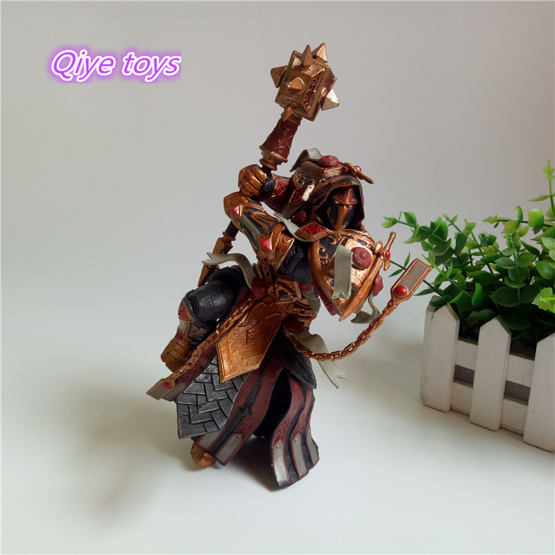 Game WOW Paladin Judge Malthred Action figure Toy Character PVC Figure 21cm Figurine Doll Gift 1