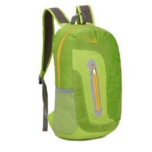 купить Portable Outdoor Sports Backpack Waterproof Camping Climbing Mountaineering Rucksack Foldable Hiking Bag Nylon Trekking по цене 1075.77 рублей