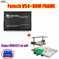 DHL Free V54 Fgtech Galletto 4 Master Fg Tech V54 BDM OBD BDM FRAME With Adaptors