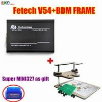 DHL Free V54 Fgtech Galletto 4 Master Fg Tech V54 BDM OBD BDM FRAME With Adaptors