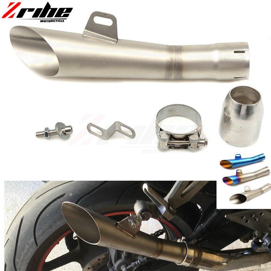 Pour 36-51 MM universel moto d'échappement modifié tuyau sans lacet moto tuyaux d'échappement pour YAMAHA TMAX 500 T-MAX500 2007 2008 20