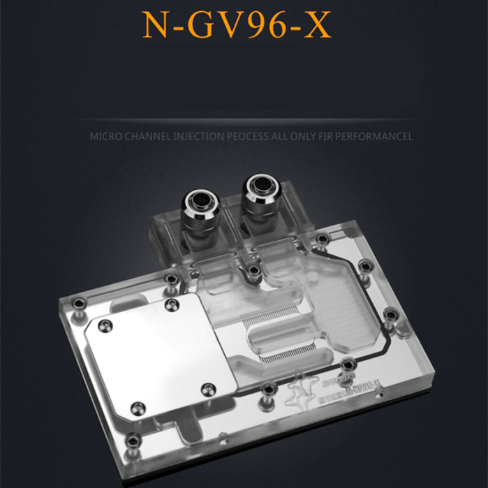 For Gigabyte GV-N960 GTX960 4GD graphics video card Full coverage Covering type water cooling block board new original graphics card cooling fan for gigabyte gtx770 4gb gv n770oc 4gb 6 heat pipe copper base