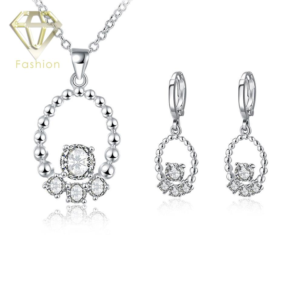 Jewelry Sale New Fashion Bead in Hollow Round Pave Zircon