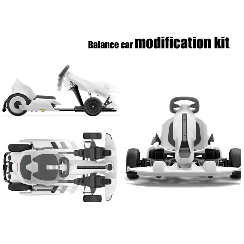 US $1371 99 30% OFF|Xiaomi Ninebot Kit DIY Balance GoKart Kit Refit  Electric Hoverboard Kart Brake Racing For Gokart kit Mini Pro Recreational