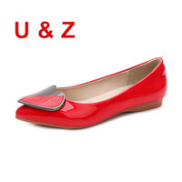 Lovely Pattern Loafers Comfort Pregnant Shoes Plus Big Size 43 Fashion Air Cushioned Soft Insole Women
