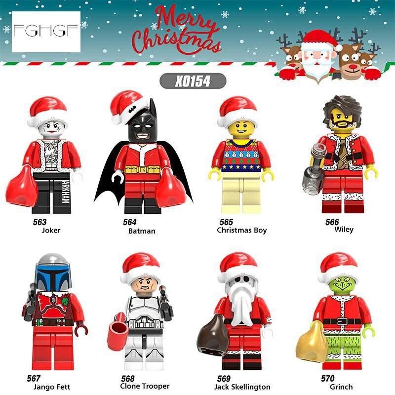 Sammeln & Seltenes Stapelleisten Ausdauernd Fghgf Super Heroes Marvel Figuren Legoilys Bausteine Mini Ziegel Kinder Spielzeug Puppe Joker Bateman Weihnachten Junge