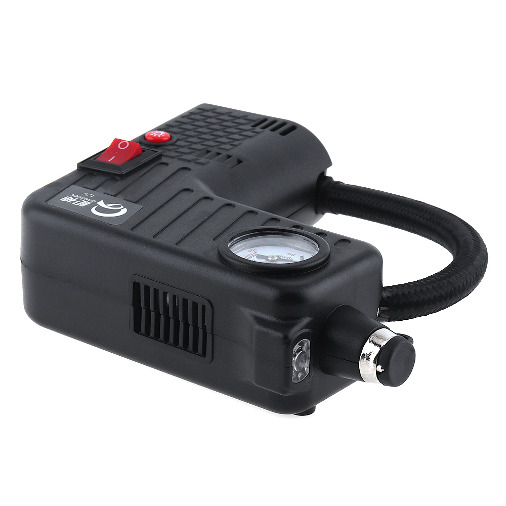 0 100PSI Portable 12V digital Car Air Compressor pump kompresor Tyre Tire Inflator with 3M Long Power Cord Cigarette Ligher Plug in Inflatable Pump from Automobiles Motorcycles