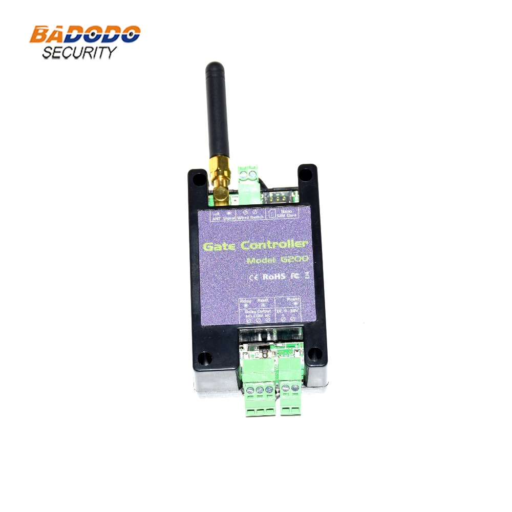 GSM 3G Remote Control GSM Gate Opener G200 Single Relay Switch For Sliding Swing Garage Gate Opener ( Replace RTU5024 )