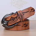 Hot Designer Cool Design de Luxo Homens Cintos Masculino Cintura Strap Faux Cowskin Cintos De Couro Dos Homens Pin Fivela de Cinto Ceinture Femme