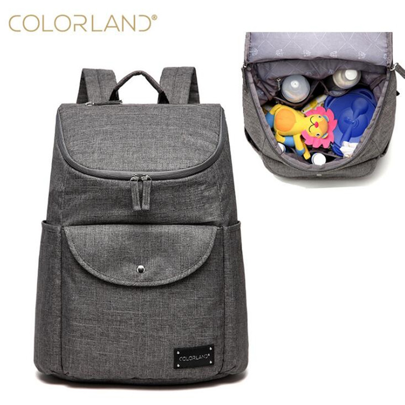 Colorland Diaper Bag Organizer Mother Maternity Bags Nappy Changing Bag Large Nappy Bag Diaper Backpack Baby Nappy Backpack colorland brand baby stroller bag baby for mom diaper bag organizer nappy bags for pram maternity mother bags diaper backpack