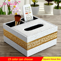 Multi Function Tissue Boxes Sitting Room Remote Receive A Case Fashion Cute Exhaust Carton Tea Table
