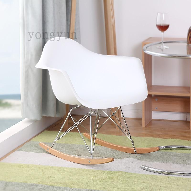 Mode Plastic Leisure Stoel Leisure Living Room Furniture Fashion Living Room Chair Balcony