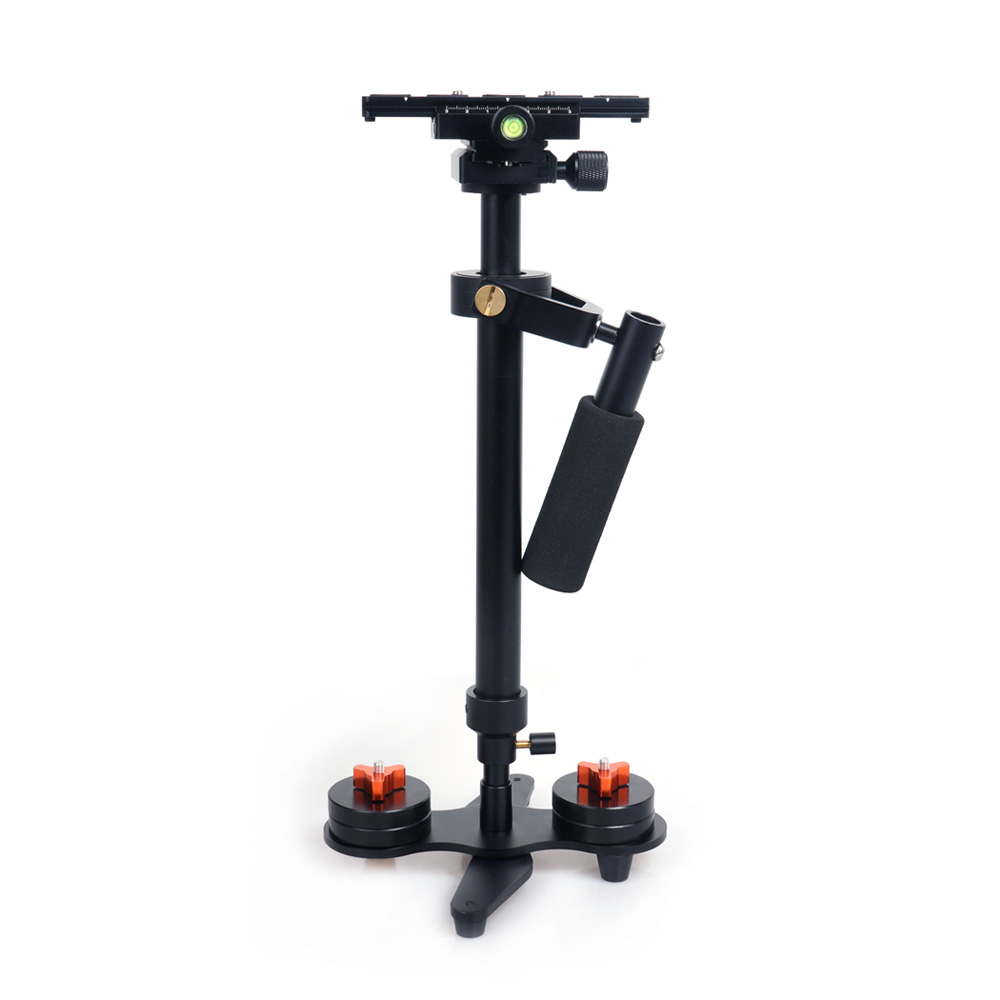 S60 DSLR Aluminum Alloy Handheld Camera Stabilizer 60cm Photography Steadicam Video Steady for Canon 5D2 MK2 and Video Cameras