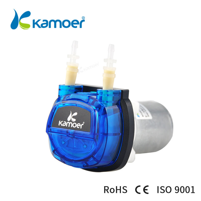 Kamoer 2018 the newest Cost-effective DC motor water pump KHS Peristaltic Pump with silicone tubings khs khs khs enfs lk