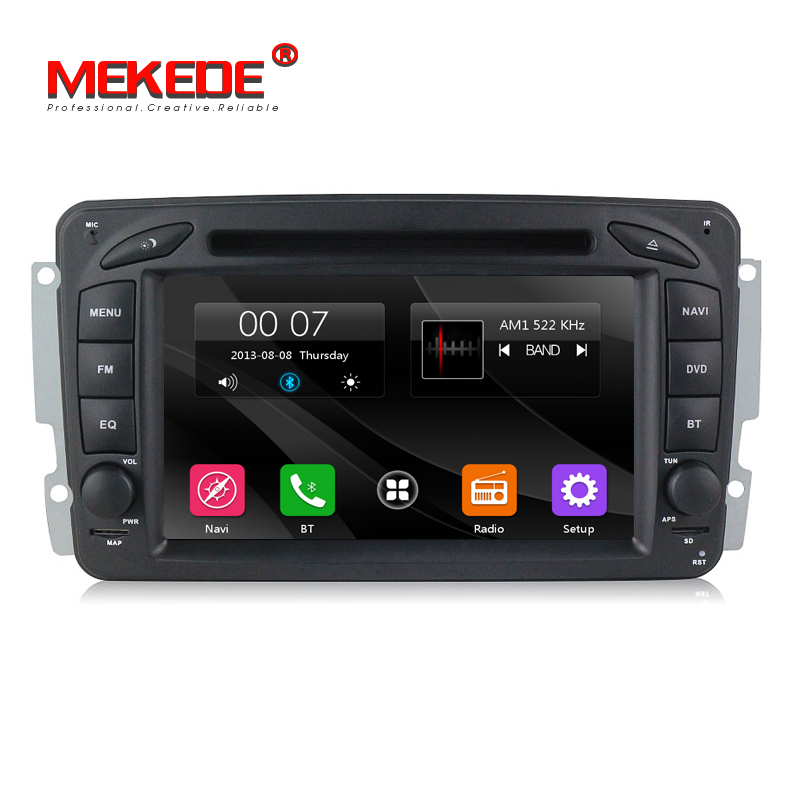 Free shipping! Car dvd player radio audio For Mercedes Benz W209 W203 W168 ML <font><b>W163</b></font> W463 Viano W639 Vito GPS navigation USB BT image