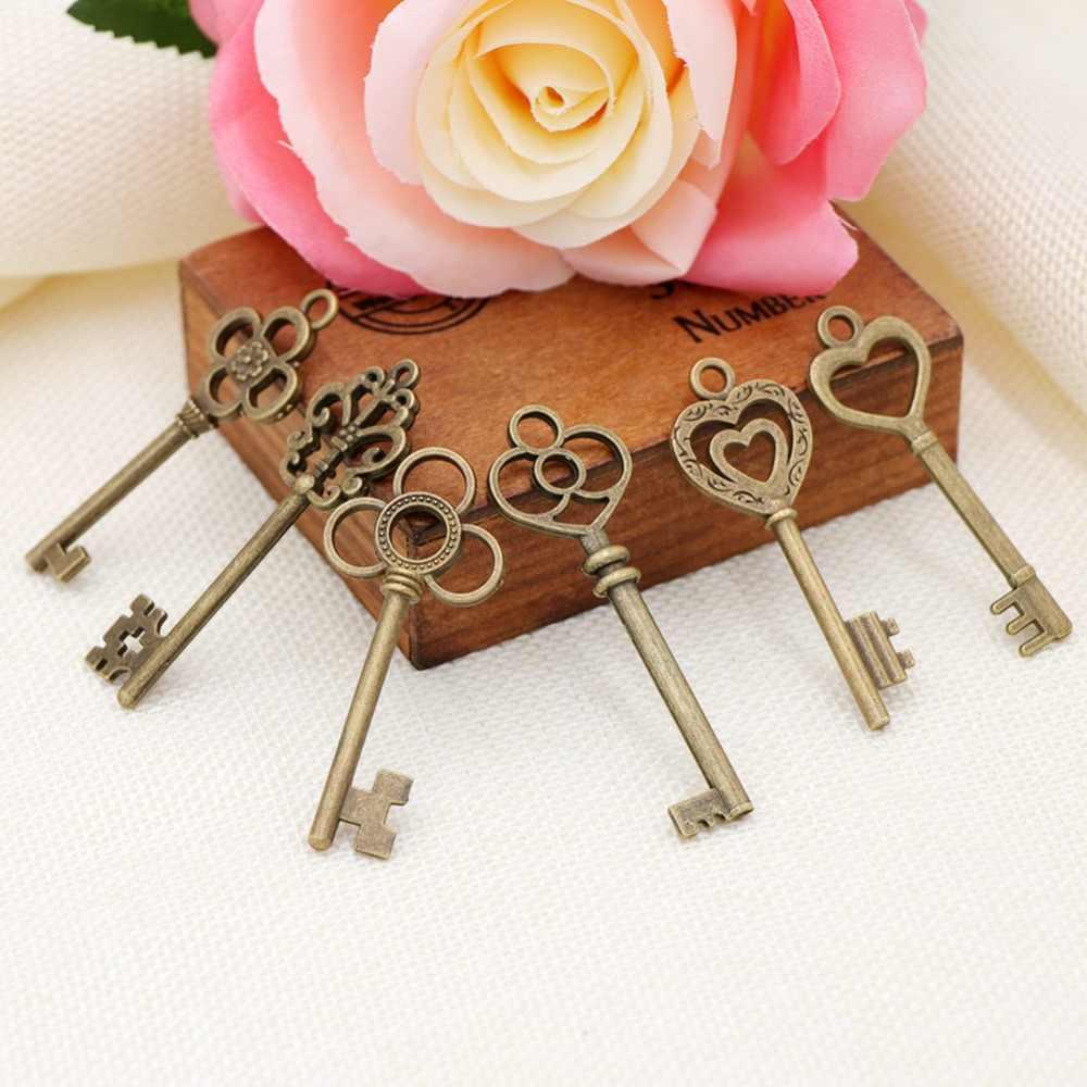 Bomboniere Matrimonio Vintage.Ourwarm 51pcs Bronze Vintage Keys Wedding Favors And Gifts For