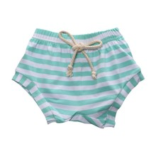 Cute Boys Girls Baby Striped Bottoms Trousers Summer Fake taking out rope Bloomers PP Shorts Children Pants