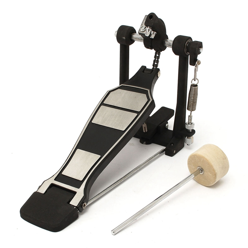 Tomwin Outdoor Store Bass Drum Pedal Beater Singer Tension Spring and Single Chain Drive Percussion Instrument Parts  Accessories
