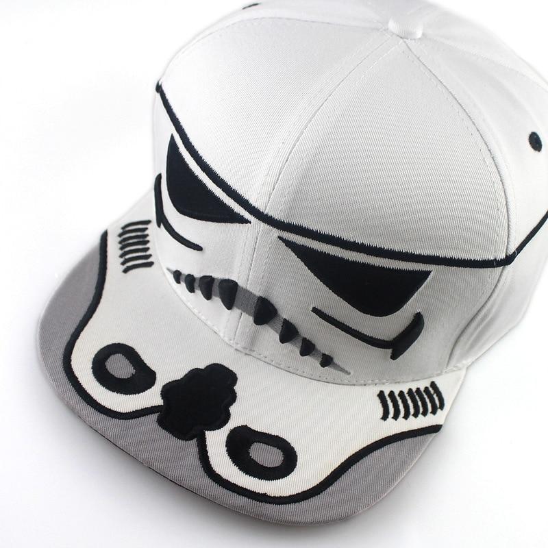 2017 New Fashion Cotton Brand Star Wars Baseball Cap Cool Strapback - Kläder tillbehör - Foto 4