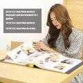 Безрамный 700 качественный кожаный фотоальбом  фотоальбом с памятью для детей  большая емкость  Альбом DIY для 5  6  7 дюймов  фотоальбом Ablum