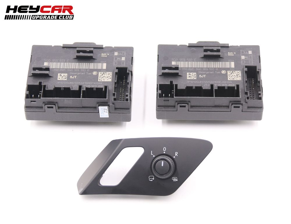AUTO folding electric folding Mirror UPGRADE KIT For Audi A3 8V -in