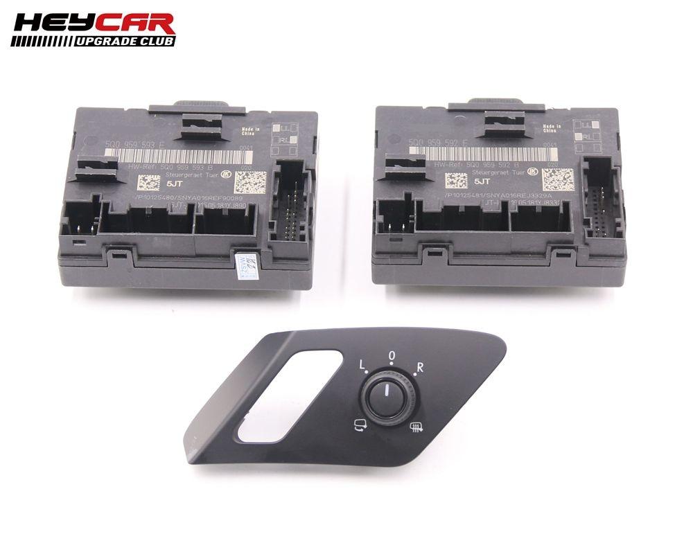 FOR A3 8V Golf 7 MK7 VII Auto Folding Mirror Electric Folding Mirrors Door Module 5Q0