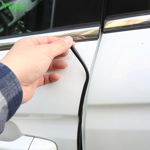 Muncp 5M Car Door Protector Crash Rubber Sealing Strip Anti Wear Rubber  Strip Fit For Lexus