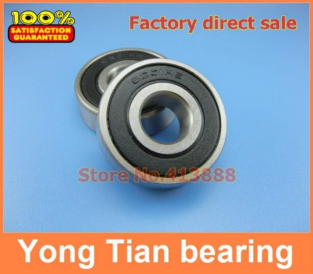 10pcs High Quality inch series bearing RLS7-2RS 22.225*50.8*14.288mm 7/8