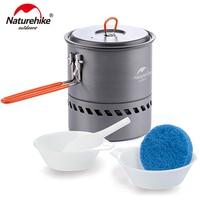 Naturehike 2 3 Person Non stick Picnic Pot And Pan Camping Pot Outdoor Folding Cookware NH15T216 G