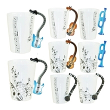 Music Clarinet Note Mug Ceramic cup Coffee Tea Mug Musical Items Drinkware Mugs Great Gift