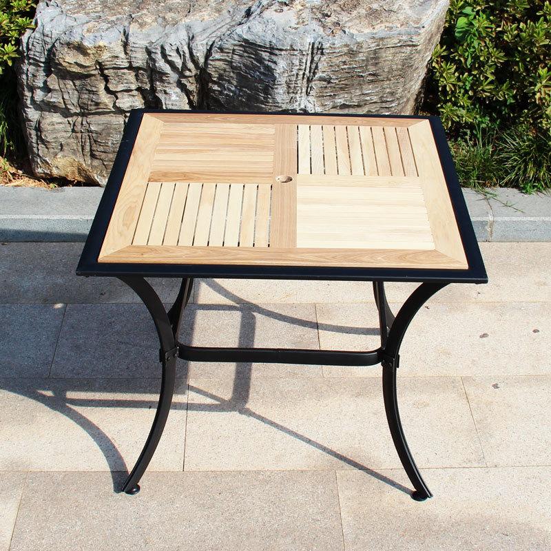 Table jardin bois enfant salon de jardin jardin duenfants mobilier de terrasse chaise chais - Table chaise balcon ...