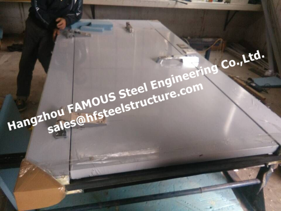 Double Swing ,PU Sandwich Panels For Swing Door