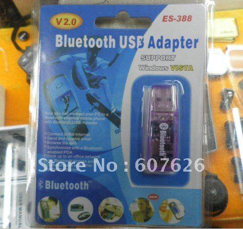 Free shipping mini ES-388 bluetooth V2.0 adaptor  10PCS/LOT