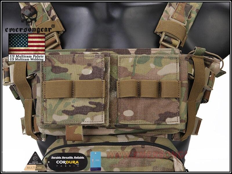 militar tático colete com bolsa revista