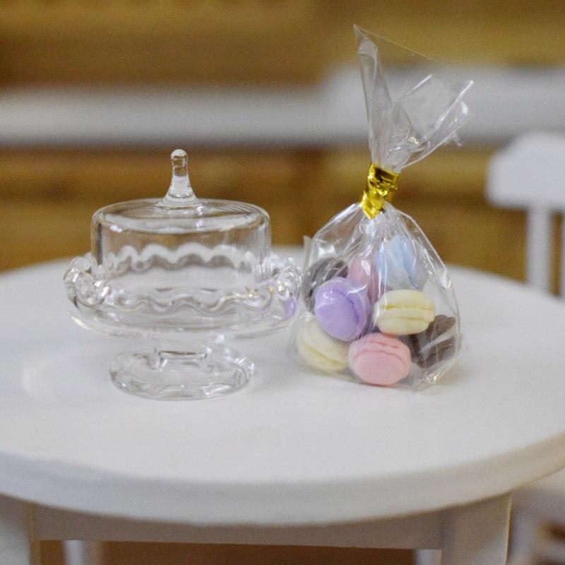 Freundlich 1:12 Nette Mini Simulation Macaron Glas Gericht Puppenhaus Miniture Puppe Spielen Lebensmittel Ob11 Sylvanian Families Küche Zubehör Spielzeug Sammeln & Seltenes
