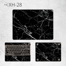Laptop Sticker for Huawei Matebook X 13.3 X Pro 13.9 inch Black Marble Vinyl Decal Notebook Cover Skin for MateBook E 12 D 15.6 цена и фото