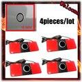 4pieces/lot Original Parking Sensors 16mm Flat Sensor Car Radar Parktronic assistance, Black Silver White Red Blue Gray