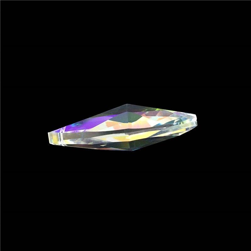 150 ピース/ロット 50 ミリメートル Ab カラークリスタルシャンデリアプリズムペンダントホーム/結婚式の装飾  グループ上の ライト & 照明 からの シャンデリア クリスタル の中 2