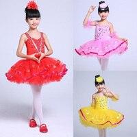 Children S Swan Ballroom Ballet Costume Dress Kids Ballet Dancewear Stage Professional Ballet Tutu Dancing Dress