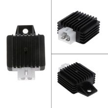 12V 4 Pin Motorcycle Voltage Rgulator Full Wave Rectification For 50cc 70cc 90cc 110cc 125cc ATV Dirt Bike Go Part Gas Scooter M