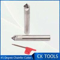 Desconto ssp 20 20 130 tcmx16t304 45 graus rosto moinho 20mm chanfro moinho cortador tcmx16t308 inserção|Ferr. fresagem|   -