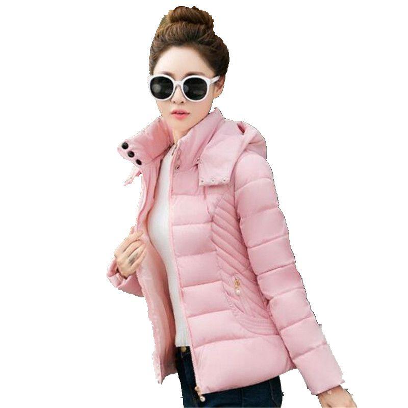2016 Autumn Winter New Women Slim Was Thin Cotton Short Paragraph Fashionable Women Thicken Small Cotton