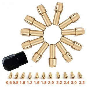 Brass Collet Chuck 0.5/0.8/1.0